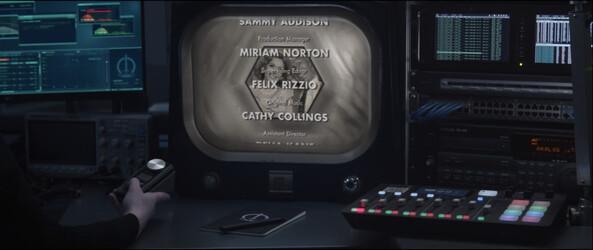 Wandavision Capitulo 1 Monitor del final
