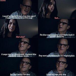 Capitulo 3 Coulson y el Jabon
