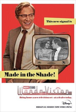 Wandavision nuevo cartel con Vision