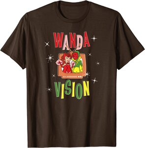 Camiseta Manga Corta Marvel Wandavision Halloween