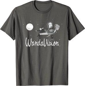 Camiseta Manga Corta Marvel Wandavision Luz de luna