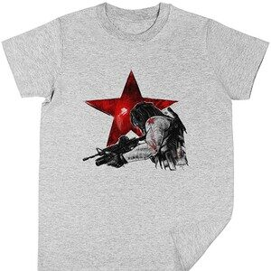 Camiseta manga corta niño del Soldado de Invierno