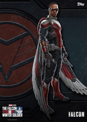 Falcon y el Soldado de Invierno Poster de Falcon
