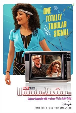 Poster de Wandavision con Agnes