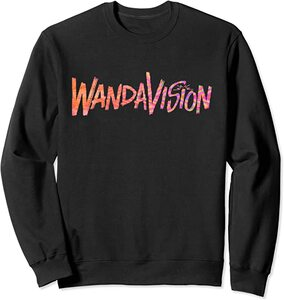 Sudadera Marvel Wandavision TV Logo Wandavision 90s