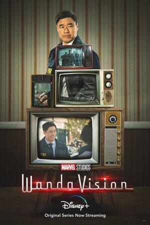 Guia de Episodios 4, 5 y 6 de Wandavision Poster con Jimmy Woo