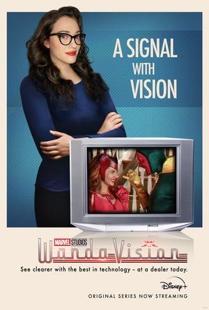 Wandavision Capitulo 7 Poster de Darcy Lewis