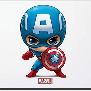 Alfombrilla para Ratón del Capitan America Marvel