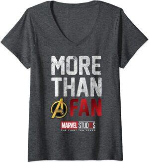 Camiseta Cuello V Marvel More than A Fan