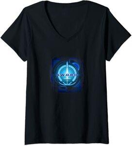 Camiseta Cuello V Marvel Wandavision TV Logo de SWORD digital