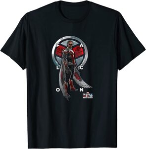xCamiseta Manga Corta Falcon y el Soldado de Invierno Escudo Falcon