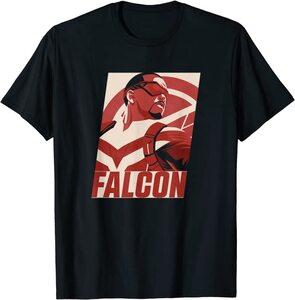 xCamiseta Manga Corta Falcon y el Soldado de Invierno Falcon Poster