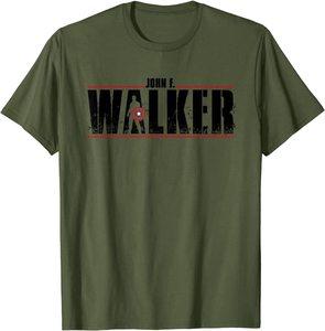 Camiseta Manga Corta Falcon y el Soldado de Invierno John Walker Hero letras negras