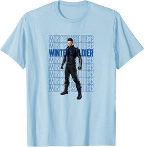 xCamiseta Manga Corta Falcon y el Soldado de Invierno Texto Winter Soldier