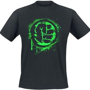 Camiseta Manga Corta Hulk Simbolo Puño