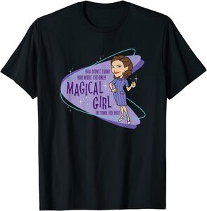 Camiseta Manga Corta Marvel Wandavision Agatha Magical Girl