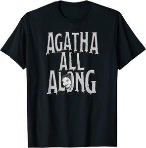 Camiseta Manga Corta Marvel Wandavision TV Agnes Agatha All Alone
