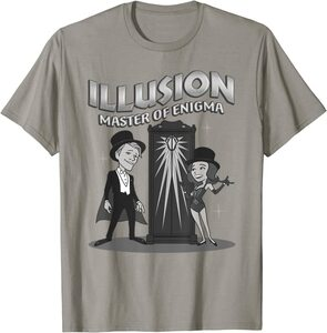 Camiseta Manga Corta Marvel Wandavision TV Ilusion El Maestro del Enigma