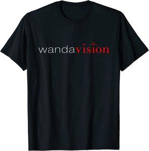 Camiseta Manga Corta Marvel Wandavision TV Logo Wandavision