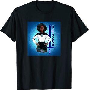 Camiseta Manga Corta Marvel Wandavision TV Monica Rambeau SWORD