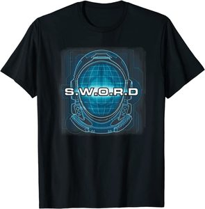 Camiseta Manga Corta Marvel Wandavision TV SWORD Casco