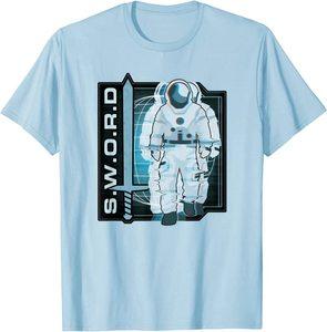 Camiseta Manga Corta Marvel Wandavision TV SWORD Traje Espacial