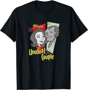 Camiseta Manga Corta Marvel Wandavision TV an Unusual Couple