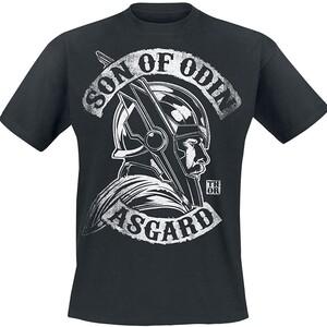Camiseta Manga Corta Thor Asgard Hijo de Odin