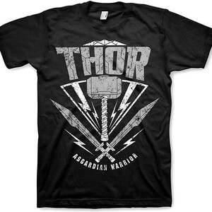 Camiseta Manga Corta Thor Ragnarok Asgardian Warrior