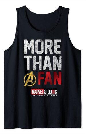 Camiseta sin Mangas Marvel More than A Fan
