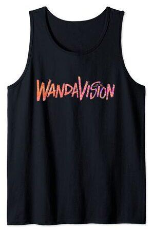 Camiseta sin Mangas Marvel Wandavision TV Logo Wandavision 90s