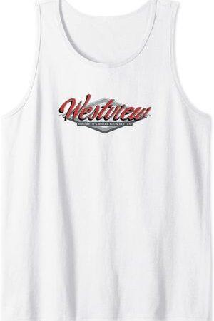 Camiseta sin Mangas Marvel Wandavision TV Westview Logo