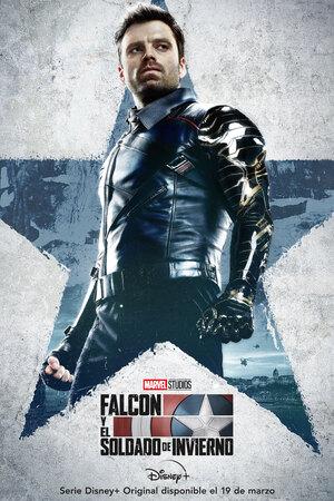 Falcon y el Soldado de Invierno Cartel Bucky Barnes