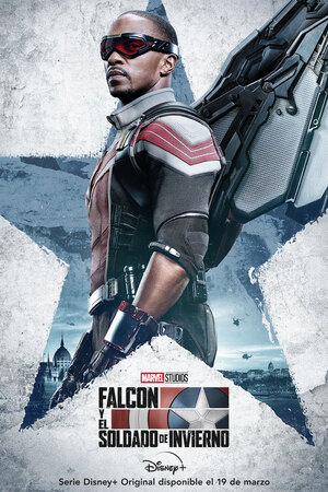Falcon y el Soldado de Invierno Cartel Sam Wilson