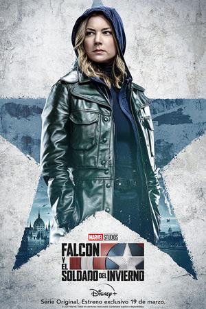 Falcon y el Soldado de Invierno Cartel Sharon Carter