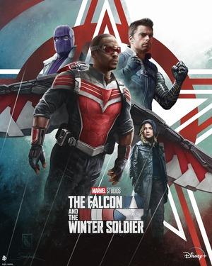 Falcon y el Soldado de Invierno Poster 2
