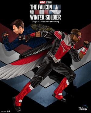 Falcon y el Soldado de Invierno Poster 4