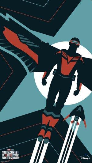 Falcon y el Soldado de Invierno Poster 5