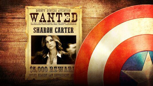 Falcon y el Soldado de Invierno Sharon Carter Wanted Se Busca