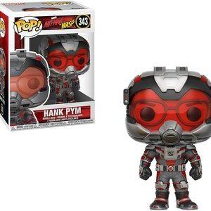 Funko Pop Ant-Man y la Avispa. Hank Pym