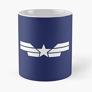 S6 Taza Logo Capitan America