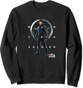Sudadera Falcon y el Soldado de Invierno Escudo Winter Soldier