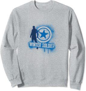 Sudadera Falcon y el Soldado de Invierno Graffiti Winter Soldier