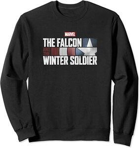 Sudadera Falcon y el Soldado de Invierno Logo Letras