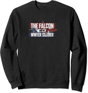 Sudadera Falcon y el Soldado de Invierno Logo Siluetas