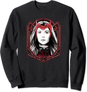 Sudadera Marvel Wandavision TV Scarlet Witch Bruja Escarlata Wanda Maximoff