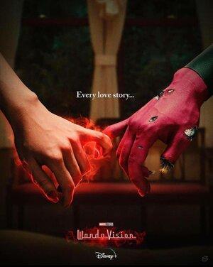 Wandavision Poster Amor