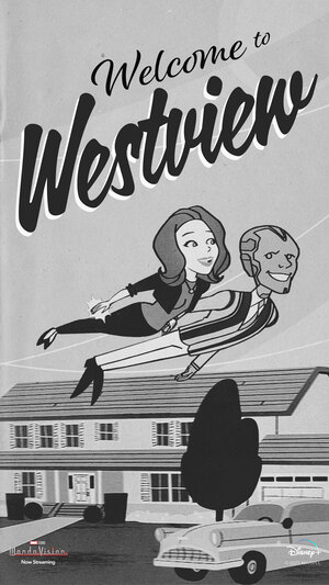 Wandavision Poster Vintage