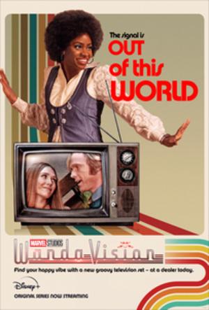 Wandavision Poster con Geraldine