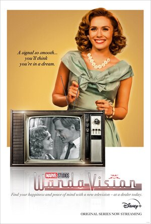 Wandavision Poster con Wanda